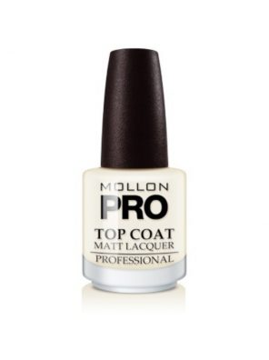 Mollon Pro Top Coat Matt Lacquer 15ml