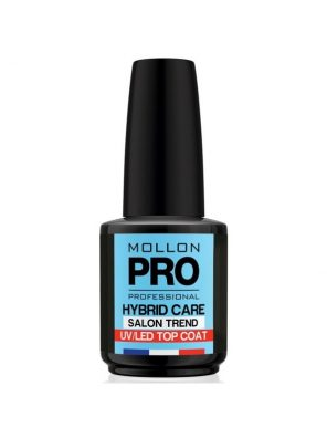 Mollon Pro Hybrid Shine Uv Top Coat 12ml