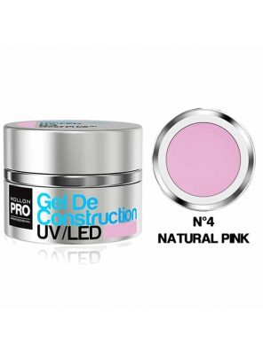 Mollon Pro Gel De Construction Natural Pink 04 30ml