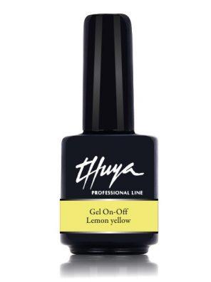Thuya - Ημιμόνιμο Βερνίκι Lemon Yellow 14ml