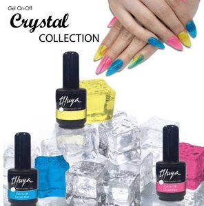 gelly nails - crystal